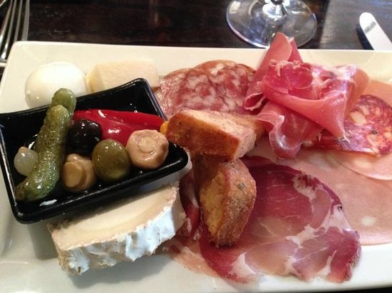 Vittoria On The Walk: Antipasto for one