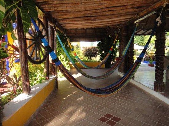 Casa Bonita and Villas: hammocks