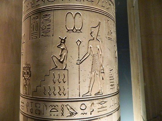 Luxor Las Vegas: Hiroglyphics!