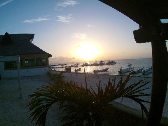 Hotel Hacienda Morelos: good morning sun