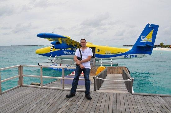 LUX* South Ari Atoll : классный перелет