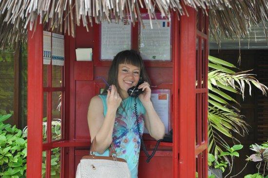 LUX* South Ari Atoll : звонок домой