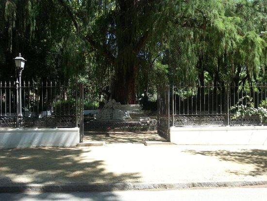 Parc de María Luisa : Some statues in the park