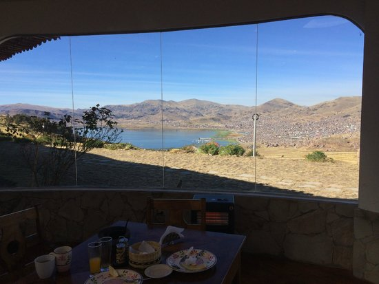 MIRADOR DEL TITIKAKA: View from room
