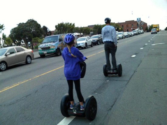 City Segway Tours San Francisco : City Segway tours