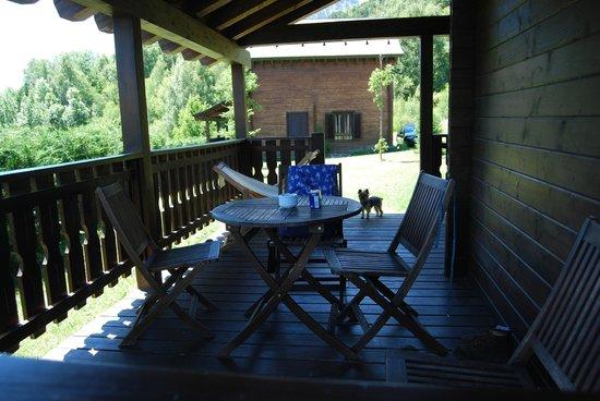Piedrafita Mountain Lodge: Porche