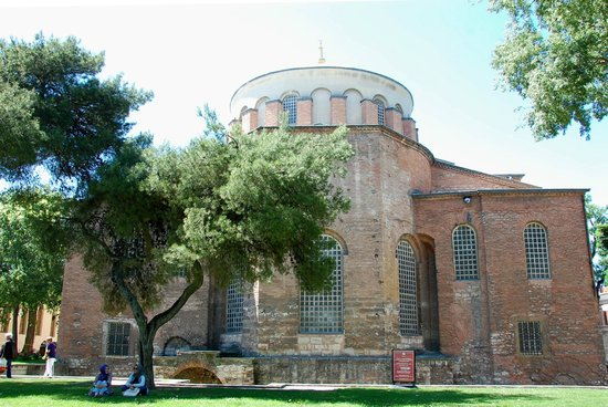 Hagia Eirene in the First Courtyard of Topkapi Palace