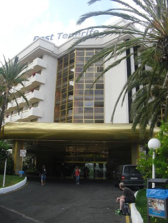 Hotel Best Tenerife: entrée de l hotel
