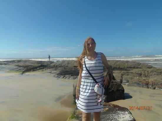 Olivenca, BA: praia