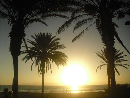 Hotel Best Tenerife: coucher de soleil