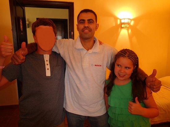 SENTIDO Mamlouk Palace Resort: Adel the best housekeeper