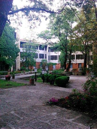 Preslav Hotel : flower garden
