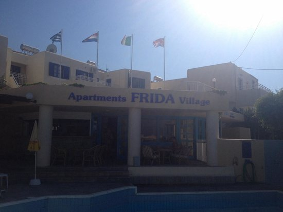 Frida Village Apartments: The front of the complex