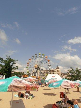 Preslav Hotel : beach