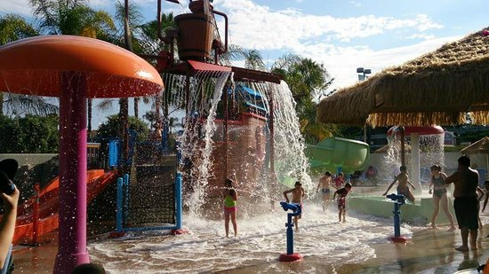 Howard Johnson Anaheim Hotel and Water Playground : Juegos acuáticos