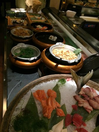 The Majestic Hotel Kuala Lumpur: Buffet Dinner Japanese Selection