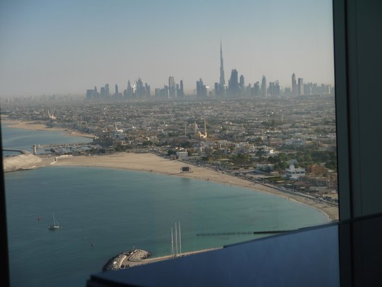 Burj Al Arab Jumeirah: View from one of our windows