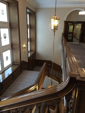 Waldorf Astoria Edinburgh - The Caledonian: Nice original details from the old building