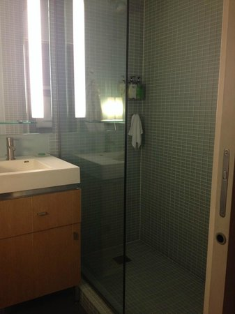 Hotel Andra: Shower - no tub