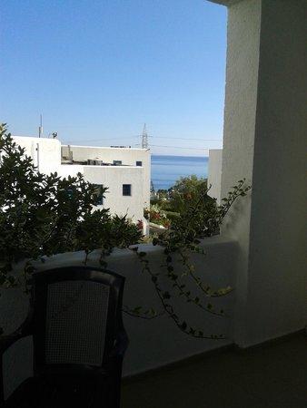 Sunshine Village : vue du balcon de la chambre