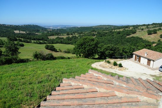 Agriturismo La Meria: vista dalla terrazza