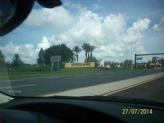 LEGOLAND Florida Resort: entrance to legoland
