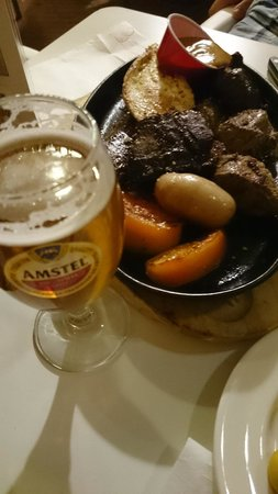 Cerveceria El Trebol : Parrillada mixta