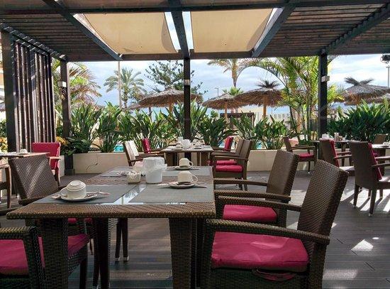 Sol Costa Atlantis : Wohlfühlen und Genießen auf der Terrasse des Restaurants
