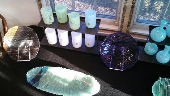 David Jacobson Glass : Finished glass
