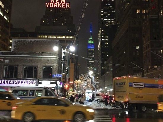The New Yorker A Wyndham Hotel: Vista desde los alrededores
