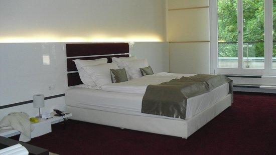 Hotel Kieler Yacht Club: Schlafbereich