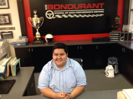 Bondurant Performance Driving School - Day Classes: Front Desk