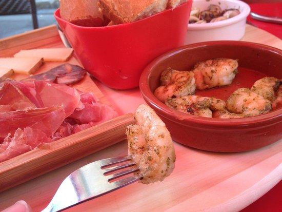 Entre 2 Tapas : Les crevettes marinées succulentes !