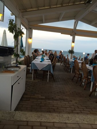 El Greco Pizzeria Restaurant : Вид