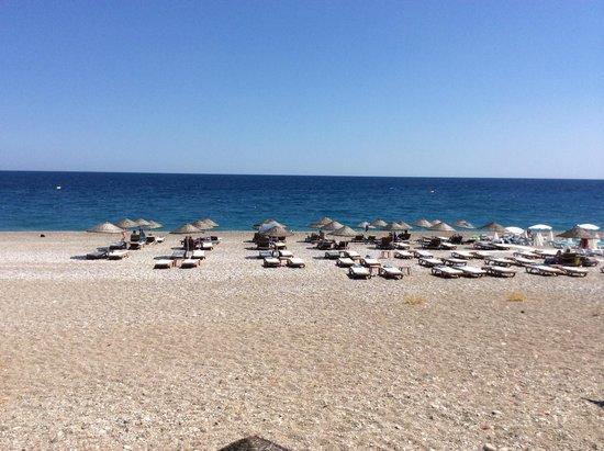 Rixos Downtown Antalya : Пляж