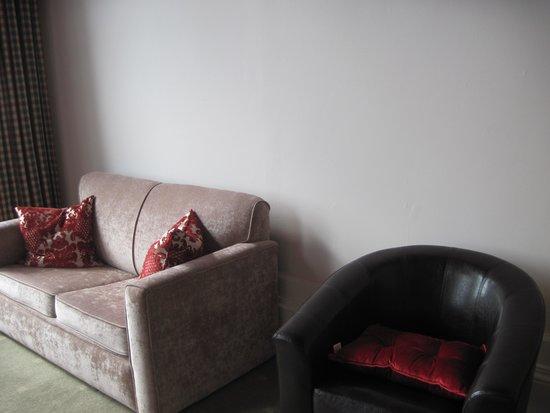 Corran House: il divanetto