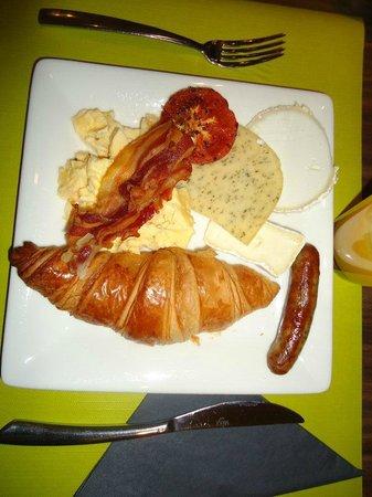 Martin's Brugge: CAFÉ DA MANHÃ DO HOTEL