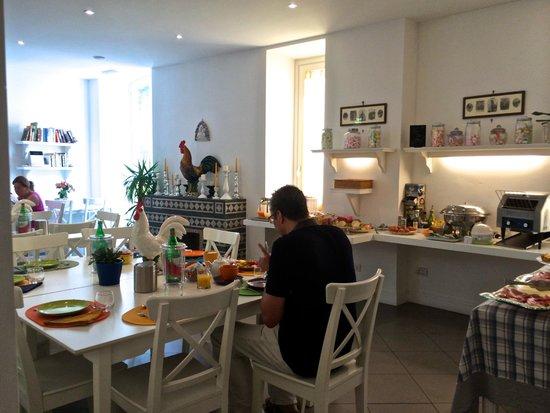 Palazzo Jannuzzi Relais: Breakfast room