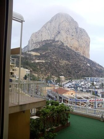 Hotel Porto Calpe : vista desde la habitacion