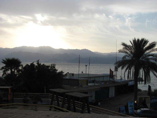 Orchid Reef Hotel: Вид на море
