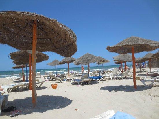 Caribbean World Borj Cedria : plage