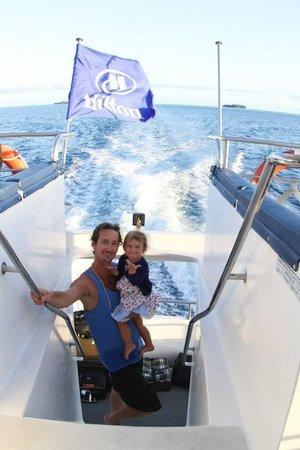 Conrad Bora Bora Nui : Leaving Hilton