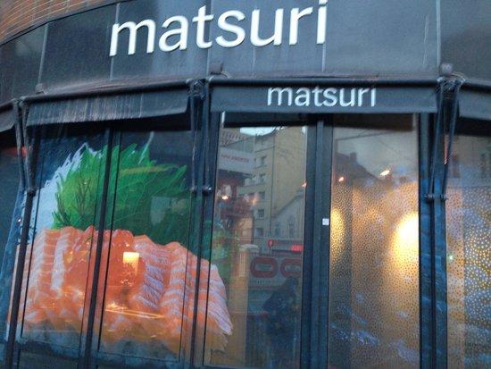 Matsuri Lyon Part Dieu : Outside logo