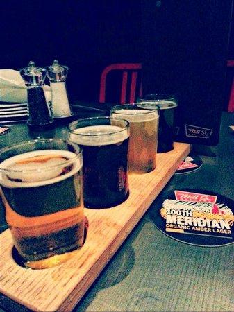 Steam Whistle Brewery: Beer Taster