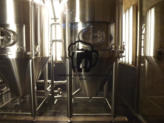 Aborigens -Local Food Insiders: A picture from our tour of the microbrewery.