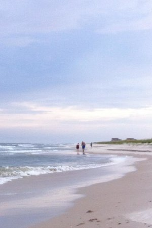 Saint George Island State Park: Our own beach
