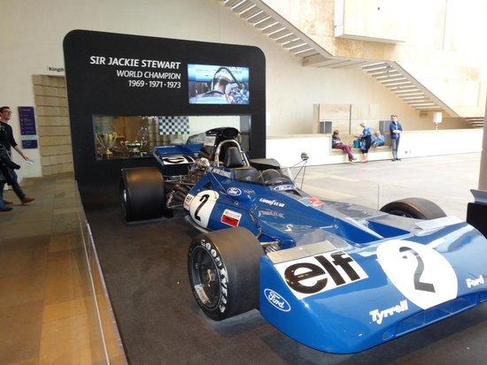 Museo Nacional de Escocia: Jackie Stewart's original F1 car.