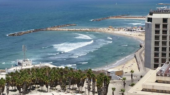 Herods Tel Aviv : View from my hotel balcony