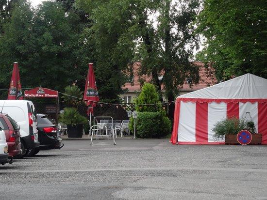 Camping Mockritz Dresden: Camping Dresden-Mockritz il ristorante