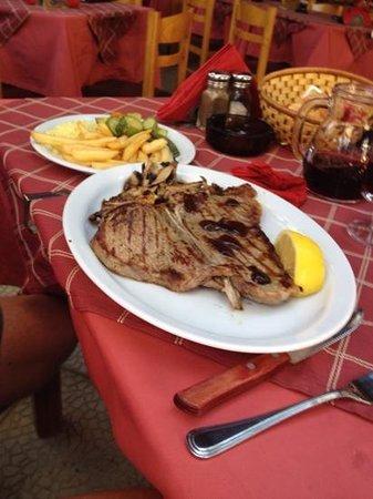 Sunset Taverna: Tbone steak